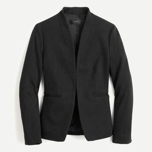 New JCREW Going-Out Blazer in Stretch Twill - Black